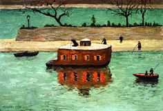GABRIELE MUNTER On the Seine (1930)
