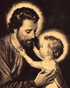 São José - Esposo de Maria Santíssima e Pai adotivo de Nosso Senhor