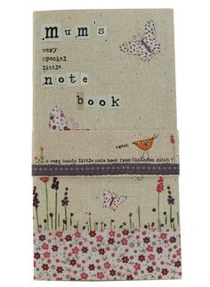 Whimsical notebook for mum's!  #mothersdaygiftideas