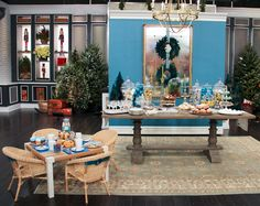 Designer Hilary Farr Loves The Holidays And Shows Us How To Decorate A  One Of