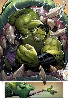 "superheroesincolor: "" Totally Awesome Hulk #3 (2015) // Marvel Comics Hulk (Amadeus Cho) Story: Greg Pak, art: Frank Cho Order it here  [ Follow SuperheroesInColor on facebook / instagram / twitter /..."