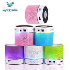 LED MINI Bluetooth Speaker BS008 Wireless