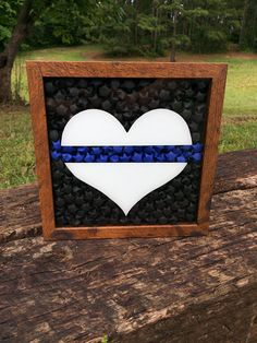Check out this item in my Etsy shop https://www.etsy.com/listing/520964277/thin-blue-line-shadow-box-thin-blue-line