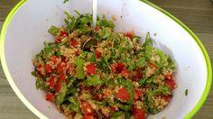 Inka-Salat - würziger Quinoa-Salat mit Avocado und Rucola, ein beliebtes Rezept aus der Kategorie Vegetarisch. Bewertungen: 48. Durchschnitt: Ø 4,5.