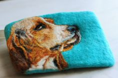 Handfelted coin purse, amazing!