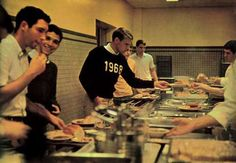 1968 lunch line - awesome!