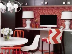 Contemporary Home Offices from Brian Patrick Flynn : Designers' Portfolio 6999 : Home & Garden Television