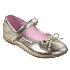 Toddler Girl's Circo® Jaray Flat - Gold