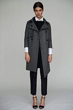 Flawless Fall Suiting? Call On Nellie Partow #refinery29
