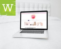 WordPress Blog Theme Clean And Minimal Feminine by wordica on Etsy