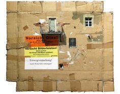 Cardboard Art by Evol very inspiring
