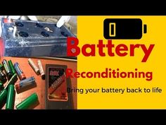 Battery Reconditioning- Battery Companies PRAY You Never See This Revealing Video - YouTube
