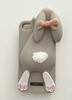 Kup mój przedmiot na #vintedpl http://www.vinted.pl/akcesoria/gadzety-technologiczne/14086280-moschino-krolik-etui-obudowa-iphone-44s