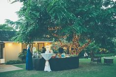 Kaimea Estate - Hawaii Venues - Romantic outdoor garden wedding reception