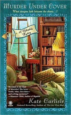 """Murder under Cover (A Bibliophile Mystery, #4)"" by Kate Carlisle --- 5 July 2012 / Completed Book #52"