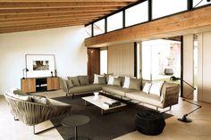 Bitta Modern Patio Furniture by Rodolfo Dordoni - Refined Decor Kettal Furniture, Sectional Furniture, Wicker Furniture, Outdoor Furniture Sets, Garden Furniture, Colorful Furniture, Modern Furniture, Furniture Design, Modern Outdoor Sofas