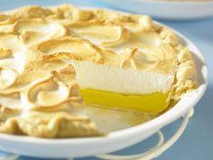 Zitronen Baiser Kuchen > Abrieb von Limette in die Füllung!