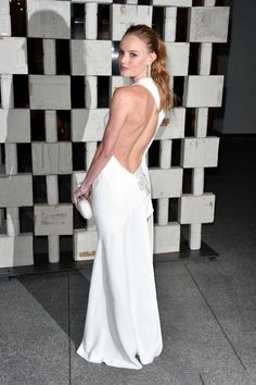 Kate Bosworth in Alexandre Vauthier haute couture at the Hammer Museum's Gala in the Garden in L.A.