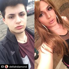 We feature the best www. Male To Female Transgender, Transgender People, Transgender Girls, Male To Female Transition, Mtf Transition, Transgender Before And After, Mtf Hrt, Chica Punk, Lgbt