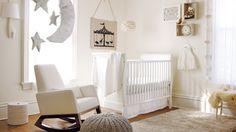 Cream and white baby nursery