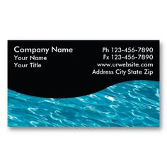 16 best swimming pool business cards images on pinterest pools pool service cards colourmoves