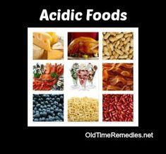 ACIDIC FOODS - OldTimeRemedies