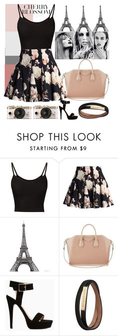 """Cherry...Blossom"" by kdfashiondesigner ❤ liked on Polyvore featuring Chicwish, Urban Outfitters, Givenchy, Stella Luna, Burberry, women's clothing, women, female, woman and misses"