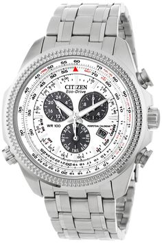 Citizen Men Watches : Citizen Men's BL5400-52A Eco-Drive Stainless Steel Sport Watch