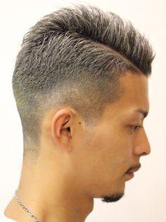 【2019年冬】バーバー風ショートスタイル/SalonDeKnight 騎士東京店のヘアスタイル|BIGLOBEヘアスタイル Trending Hairstyles For Men, Haircuts For Men, Short Hair Cuts, Short Hair Styles, Asian Men Hairstyle, Men's Hairstyle, 50 Shades Of Grey, Fade Haircut, Korean Men