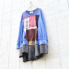 Upcycled Sweatshirt, Oversized Dress, Loose Fit Tunic, Recycled Clothing, Repurposed Dress, Upcycled Clothing, Aline Tunic, Creative Dress