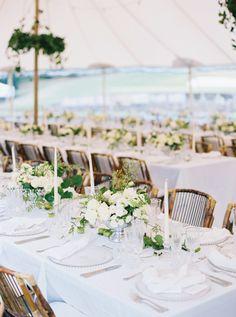 An al fresco affair: http://www.stylemepretty.com/2017/05/16/elegant-australian-summer-wedding/ Photography: Katie Grant - http://www.katiegrantphoto.com/