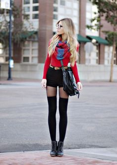 Winter hipster