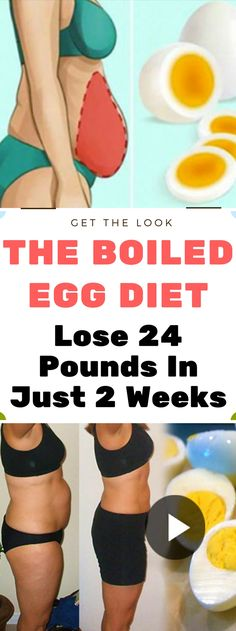 The Boiled Egg Diet – Lose 24 Pounds In Just 2 Weeks..! Read this carefully..!