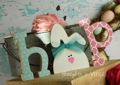 Vinyl Letters | Wooden Letters | Super Saturday Crafts