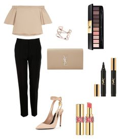 """Dressy"" by dianthesiva ❤ liked on Polyvore featuring Tom Ford, TIBI, Dolce&Gabbana, Dorothy Perkins and Yves Saint Laurent"