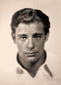 Lon Chaney Jr.(American Actor known for his extreme characters of horror creature in makeup) The Wolfman, House  of Frankenstein, House of Dracula, The Mummy's Curse, The Defiant One. . . . . .