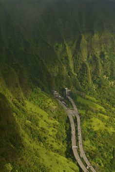 H3 in hawaii...I love exiting this tunnel! One of the best views on Oahu for sure!