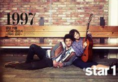 A Pink Eun Ji and Seo In Kook - @Star1 Magazine