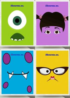 Movie Friday: 9 Alternative Movie Posters for Monsters Inc.
