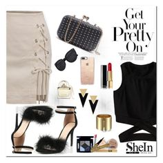 """""""Shein 4/1"""" by dinna-mehic ❤ liked on Polyvore featuring Chloé, Yves Saint Laurent, Casetify and shein"""