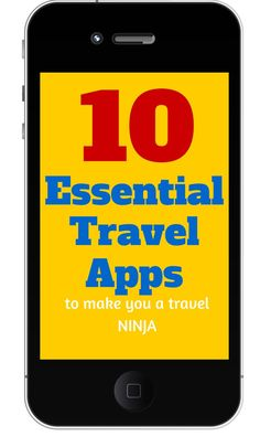 10 Essential travel apps for your phone