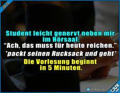Hauptsache mal dagewesen. #Studentenleben #Studentlife #Studium #studieren #lustiges