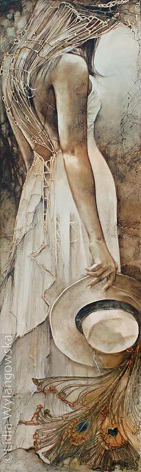 'Conquest of Paradise' | Art of Lidia Wylangowska | http://www.lidiawylangowska.com