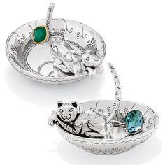 Doggy & Kitty rings trays. Really WANT!