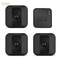 Blink XT Outdoor/Indoor Home Security Camera System for Your Smartphone with Motion Detection Wall Mount HD Video 2 Year Battery and Cloud Storage Included  3 Camera Kit