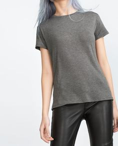 Image 2 of BASIC T-SHIRT from Zara