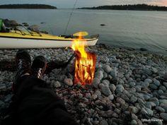 Sea kayak in Porkkala, Finland