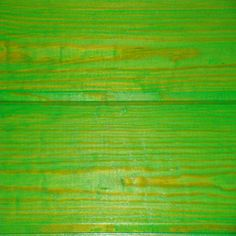 lime green wood stain- coffee table maybe?