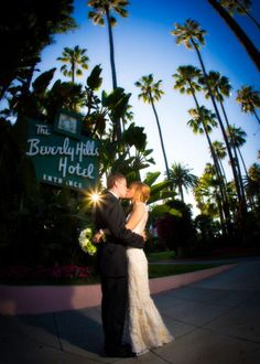 Beverly Hills Hotel Garden Wedding from Bob Gail Special Events Beverly Hills Hotel, The Beverly, Never Getting Married, Hollywood Hills, California Dreamin', Hotel Wedding, What Is Love, Newlyweds, Garden Wedding