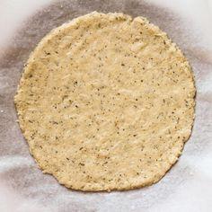 Making cauliflower crust pizza